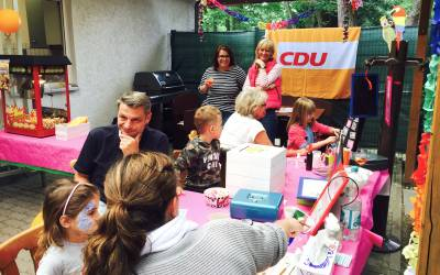 21.06.2015: CDU Pasta-Party im Vogelpark -