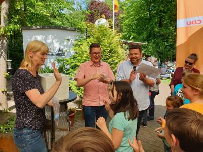 19. Mai 2019: Pasta-Party im Vogelpark - 19. Mai 2019: Pasta-Party im Vogelpark
