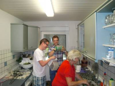 14.07.2013: Pasta-Party im Vogelpark -